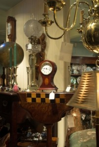 Antiques store