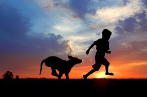 Josh & his dog